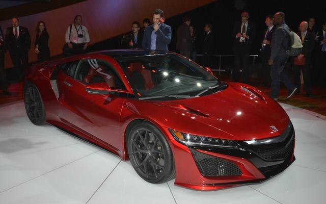 【デトロイトモーターショー15】ホンダ NSX 新型に早くも「タイプR」計画か