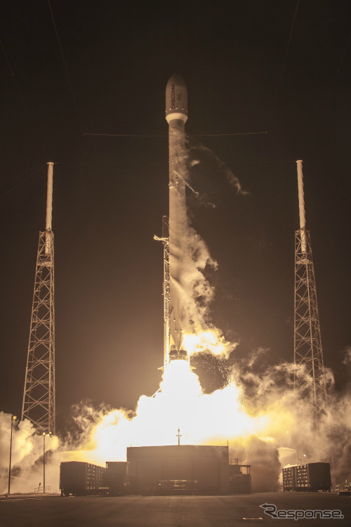 FALCON 9 ORBCOMM 2 LAUNCH