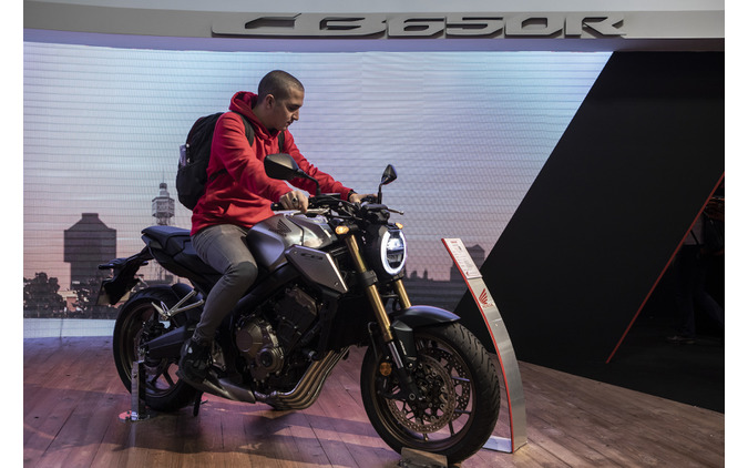 CB650R(EICMA 2018) (c) Getty Images