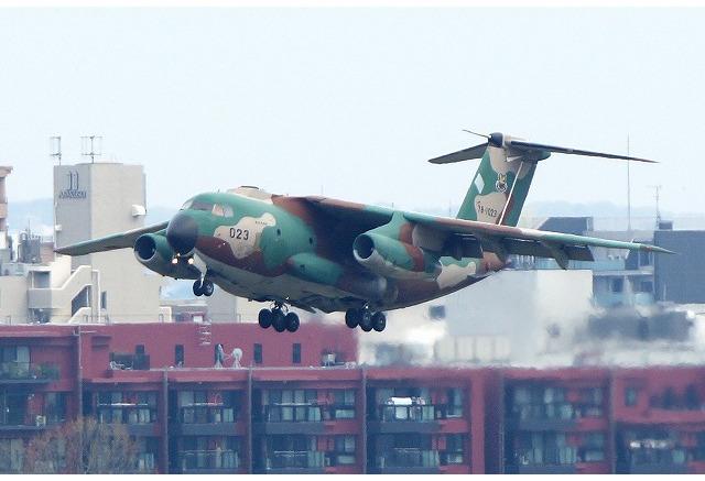 航空自衛隊、C-1輸送機を用いた立川飛行場での訓練飛行を実施 ...