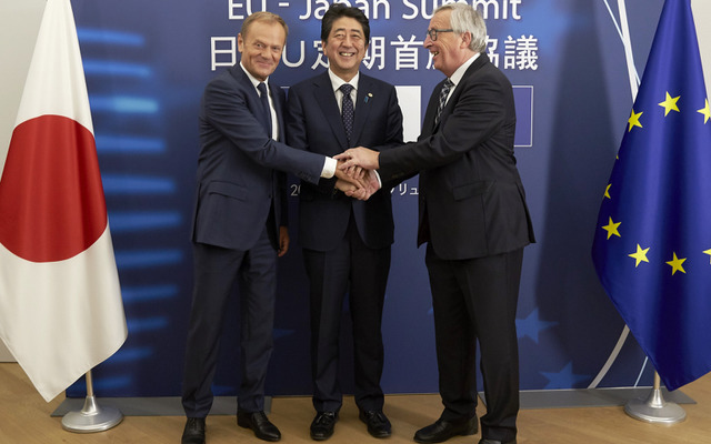 EU-Japan Summit 2017 (c) Europe Union