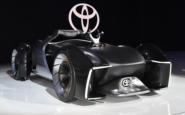 トヨタ e,RACER は未来の愛馬\u2026東京モーターショー2019[詳細画像