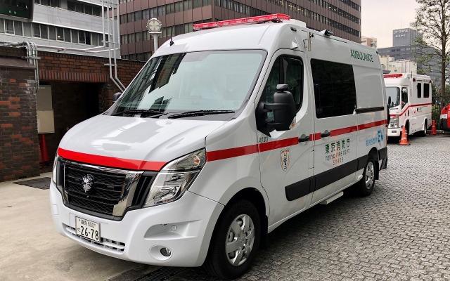 日産のEV救急車、東京消防庁で稼働開始---災害時には移動電源としても ...