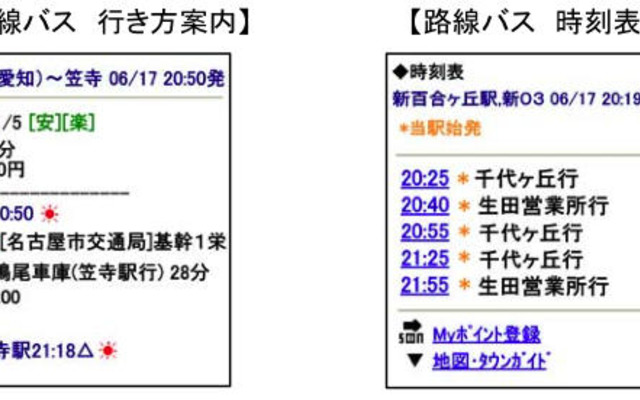 名古屋市バス 時刻表
