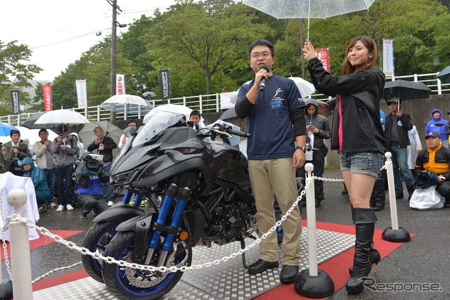 YAMAHA Motorcycle Day(9月15日・苗場)『ナイケン』開発者も登場