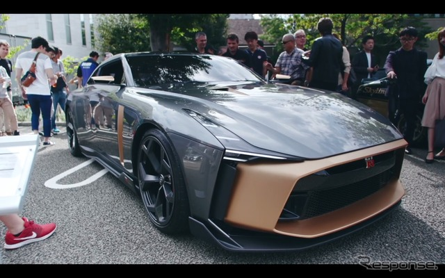 Nissan GT-R50 by Italdesign debuts in Tokyo(日産自動車公式Youtubeより)