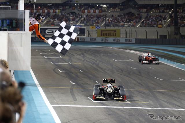 F1 アブダビGP】ライコネンが復...
