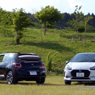 DS 3(右)とDS 3カブリオレ(左)
