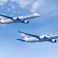 JAL向けA350-900とA350-1000(完成予想写真)