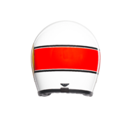 MINO 73 WHITE/RED