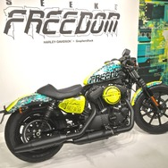 「SEEK for FREEDOM」HARLEY-DAVIDSON×GraphersRock -Exhibition