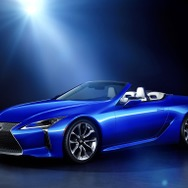 "特別仕様車 LC500 Convertible ""Structural Blue"""