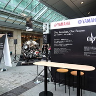 「Two Yamahas, One Passion ~デザイン展2015~」会場風景
